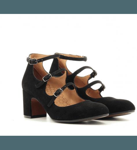 Escarpins à talons moyens noir FLAWLESS - Chie Mihara