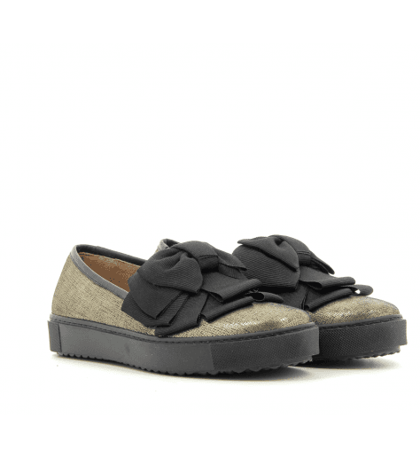 Sneakers à semelles plates or ZASHA - Chie Mihara
