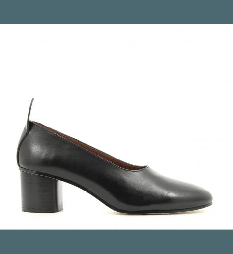 Escarpin en cuir noir JO29061 - Joseph