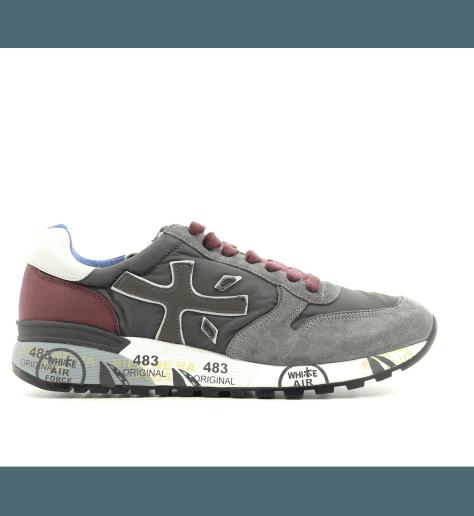 Sneakers homme en cuir gris  MICK2321- Premiata