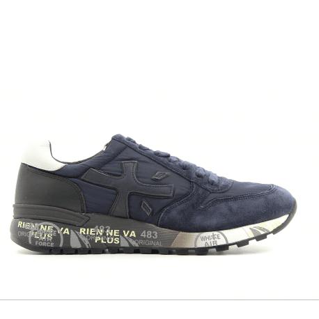 Sneakers homme en cuir marine  MICK2683- Premiata