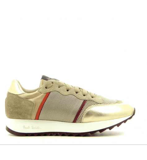 Sneakers en cuir doré  BOLD  - PAUL SMITH WOMEN