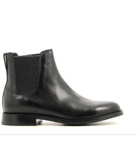 Bottines en cuir noir CAMARO - Paul Smith