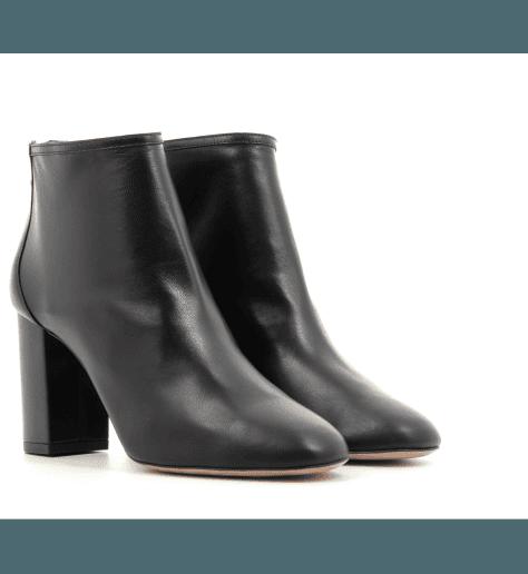 Boots cuir à talons  - Aquazzura DOWTOWN BOOTIE 85
