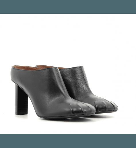 Mules en cuir noir JO29107 - Joseph