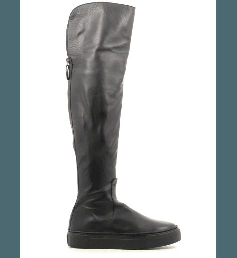 Bottes Genouillere noir D925505- AGL