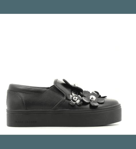 Sneakers en cuir noir DAISY  - Marc Jacobs
