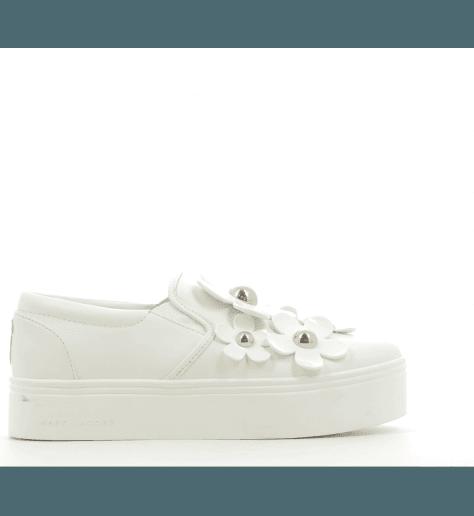 Sneakers en cuir blanc DAISY  - Marc Jacobs