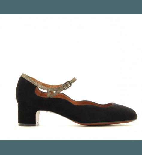 Escarpins petits talons Noir NANSTA1 - Chie Mihara