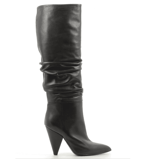 Bottes noir en cuir  CO7249FN - Garrice Collection