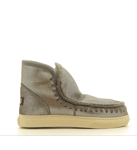 Bottines fourrées MINI ESKIMO SNEAKERS GREY - MOU