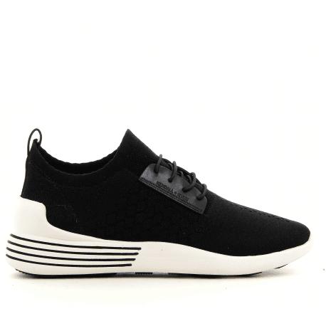 Sneakers en textil elastiqué noir BRANDYBLACK - Kendall+Kylie
