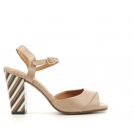 Sandales nude à talons strillé BRIAL - Chie Mihara