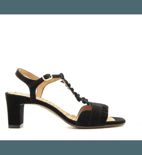 Sandales à petits talons noir LAUBO BLACK - Chie Mihara