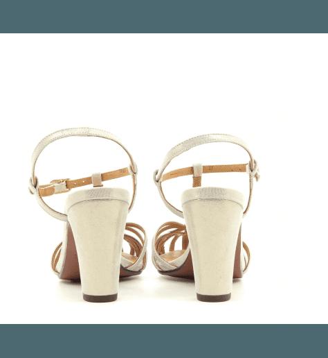 Sandales platines à talons QUENU - Chie par Chie Mihara