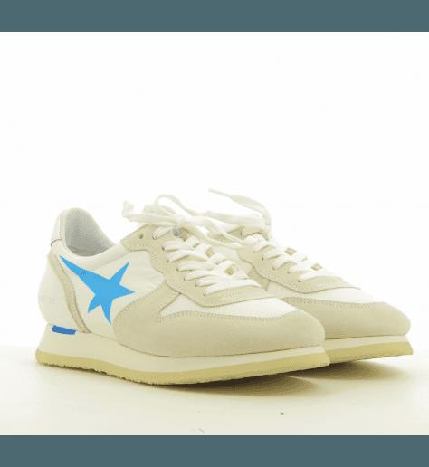 Sneakers blanche avec étoile bleue SWAN ICE - Haus by Golden Goose deluxe brand