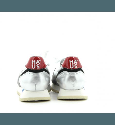 Sneakers argentées HAUS SWAN SILVER - Golden Goose deluxe brand