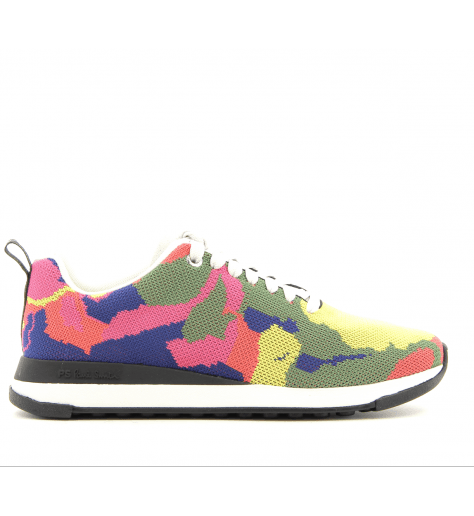Sneakers en textil elastiqué multicolor RAPPID MULTI - Paul Smith