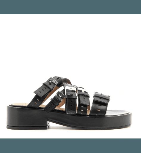 Sandales multibrides noir FANTOM - Robert Clergerie