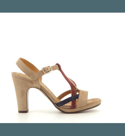Sandales tricolores à talons AKENU1 - Chie Mihara