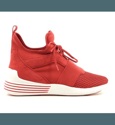 Sneakers neoprene  rouge BRAYDINRED - Kendall+Kylie