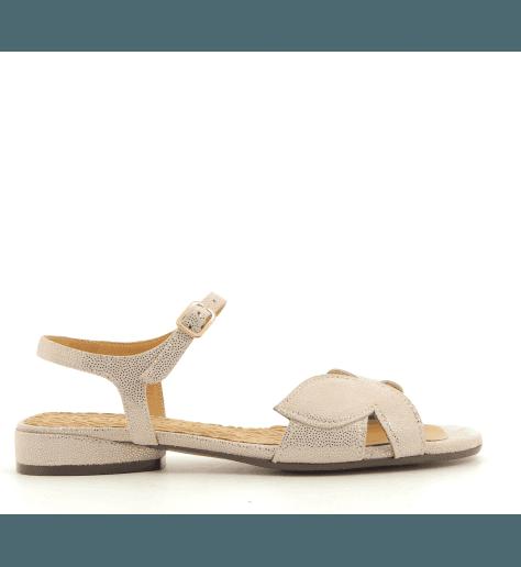 Sandales plates en cuir nude Chie Mihara - VONSAI