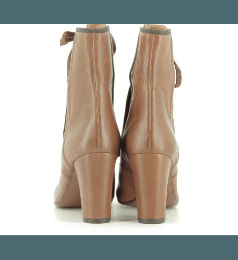 Bottines en cuir camel KIOTO - Chie Mihara