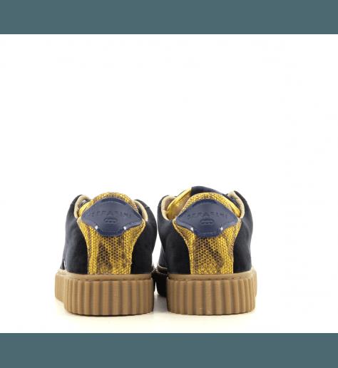 Sneakers en velours bleu MADISON BLUE - Serafini