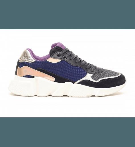Sneakers à semelle débordante OREGON BLUE -  Serafini
