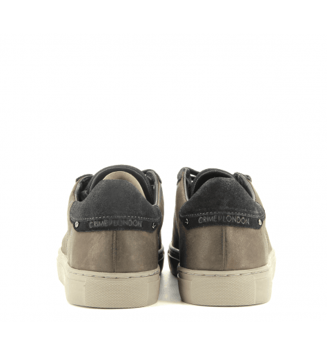 Sneakers homme en cuir marron BEAT 11318 - Crime London