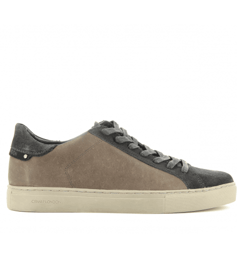 Sneakers homme en cuir marron BEAT 11318 - Crime London