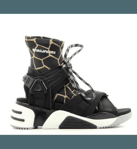 Sandales en textile noir SOMEWHERE SPORT SANDAL  - Marc Jacobs