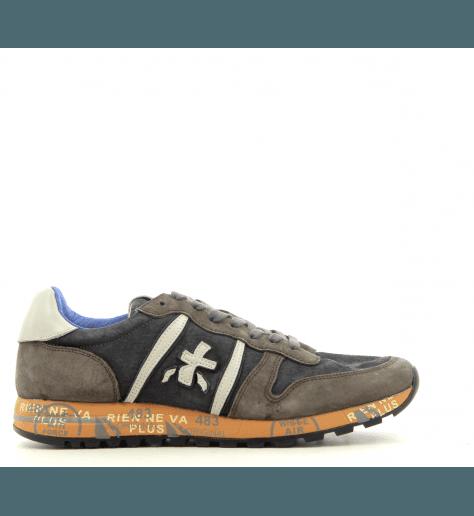 Sneakers homme en croûte gris taupe  ERIC2379- Premiata