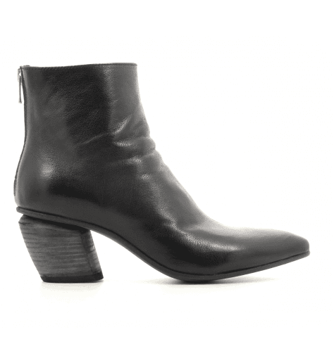 Bottines en cuir noir Officine Creative - SEVERINE 008N