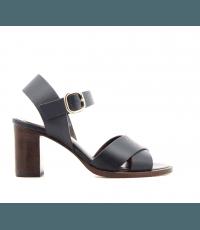 Sandales à talons bleues marine Avril Gau - COQUILLE V2B
