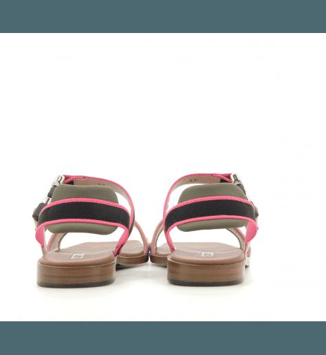 Sandales en sequin doré rosé Alberto Gozzi - DELINDA-261