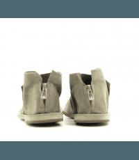 Sandales en veau velours taupe kaki Officine Creative - ITACA 005KAKI