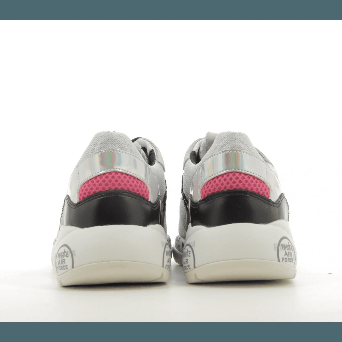 Baskets en textile et cuir multicolore Premiata - SCARLETT 3693