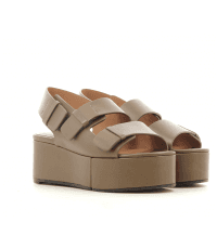 Sandales à semelle épaisse kaki ARENA1- Robert Clergerie