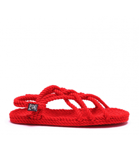 Sandales vegan en corde Nomadic State of Mind - JC SANDALS RED