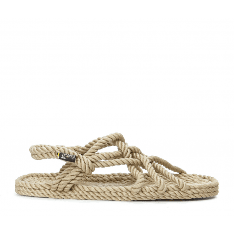 Sandales vegan en corde Nomadic State of Mind - JC SANDALS BEIGE