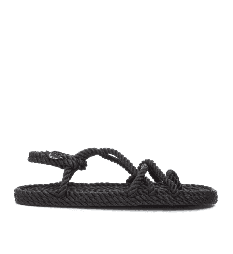 Sandales vegan en corde Nomadic State of Mind - TOE JOE BLACK