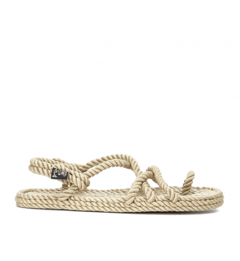Sandales vegan en corde Nomadic State of Mind - TOE JOE BEIGE