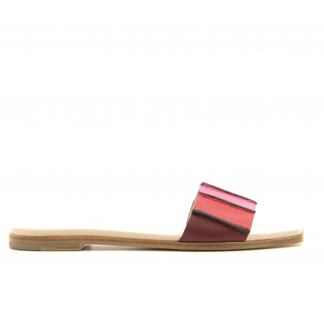 Sandales en cuir multicolore SAFIA SWIRL -Paul Smith