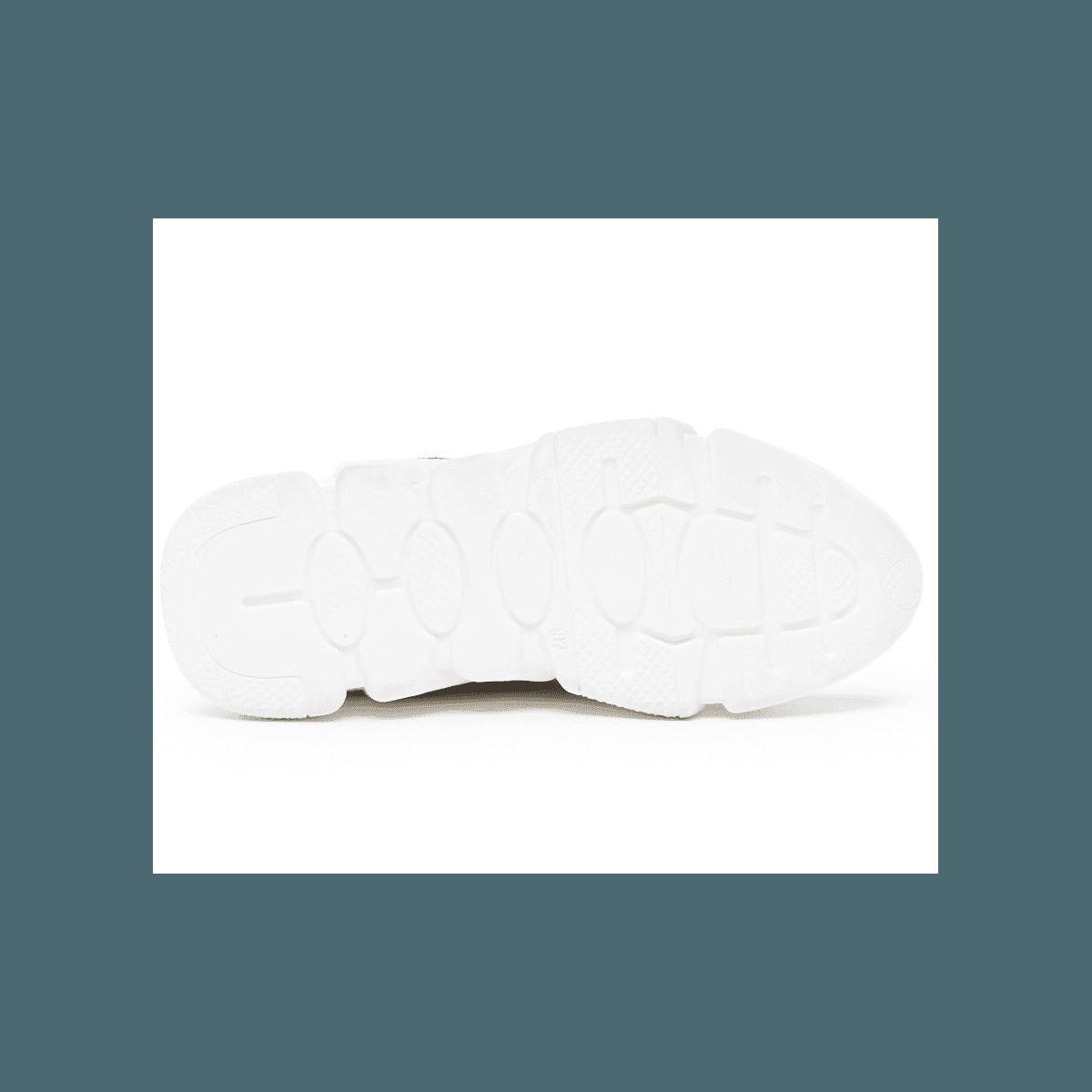 Baskets à semelle débordante SERAFINI - OREGON LEOPARD