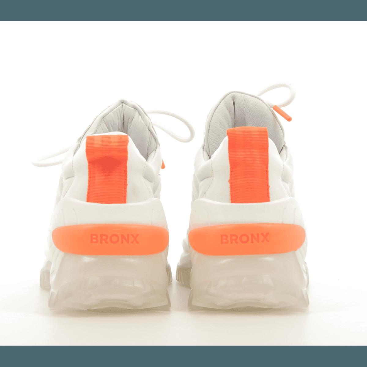 Sneakers en cuir blanc et semelle épaisse Buffalo London - 66266X-AH-734