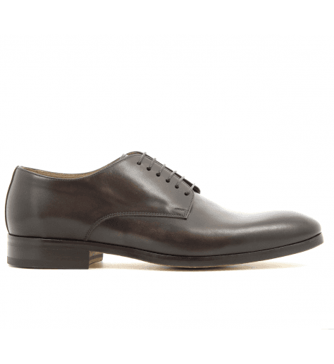 Derbies en cuir marron 1374UF2 - Doucal's