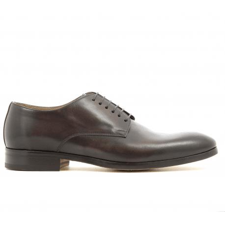 Derbies en cuir marron 1374UF2 - Doucal's